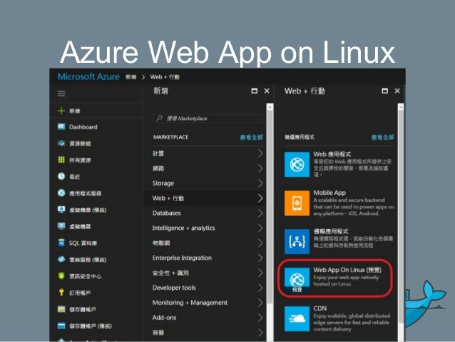 Use Docker image for Web AP