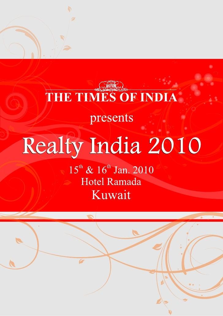 Docket Times Realty India 2010 Kuwait