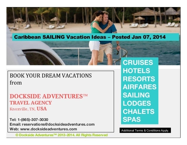 Book your SAILING VACATION today!