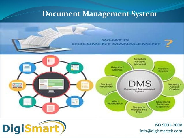 ISO 9001-2008 info@digismartek.com Document Management System