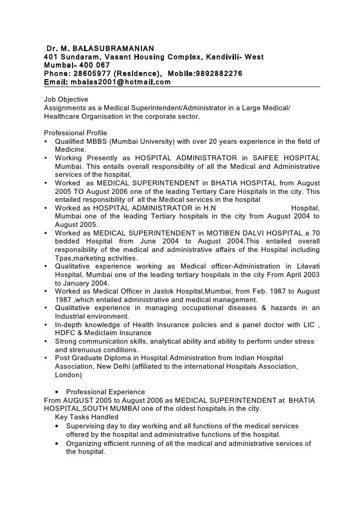Dr. M. BALASUBRAMANIAN 401 Sundaram, Vasant Housing Complex, Kandivili- West Mumbai- 400 067 Phone: 28605977 (Residence), ...