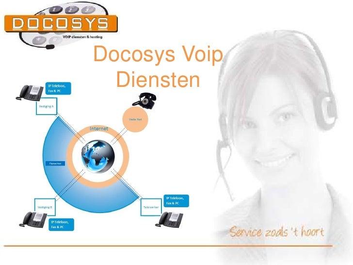 Docosys Voip  Diensten