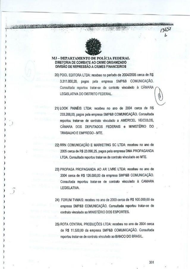 e  )  ) )  MJ - DEPARTAMENTO DE POLiClA FEDERAL  )  DIRETORIA DE COMBATE AO CRIME ORGANlZADO DIVISAo DE REPRESSAO A CRIMES...