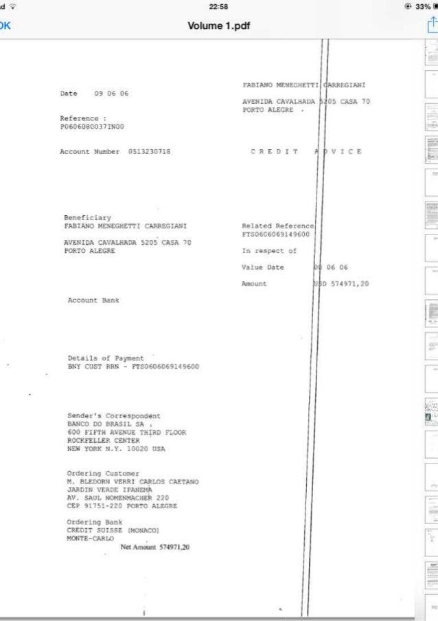amas e›saasE  Volume 1 . pdf [Í        FABIANO MNEGHETTI ¡ANI  Date 09 06 06 AVENIDA CAVALBADA  PORTO ALEGRE -  05 CASA 70...