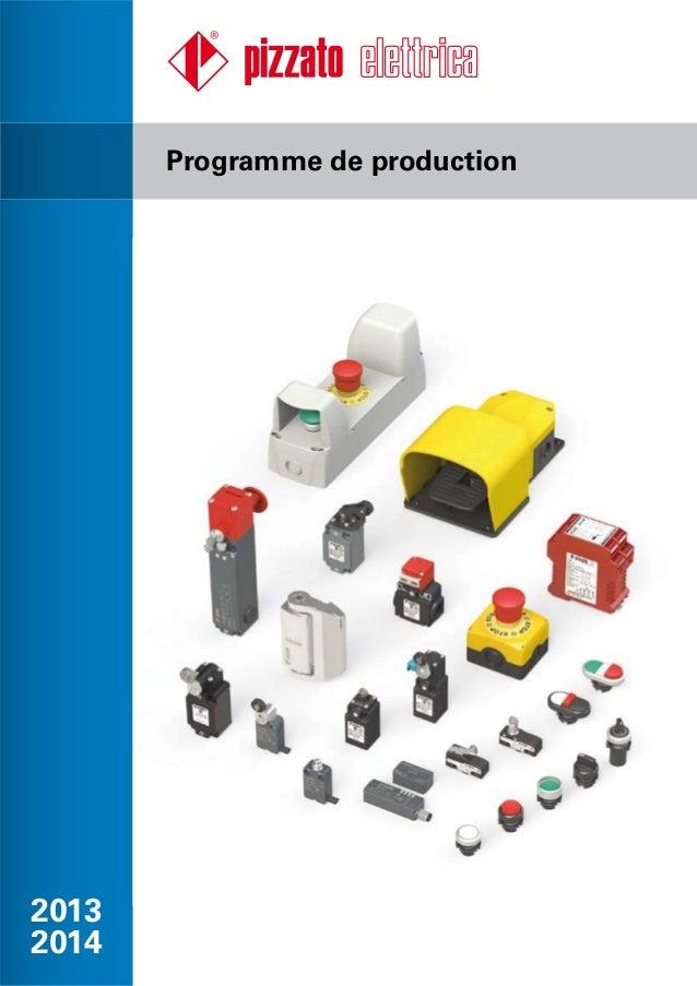 2013 2014 Programme de production