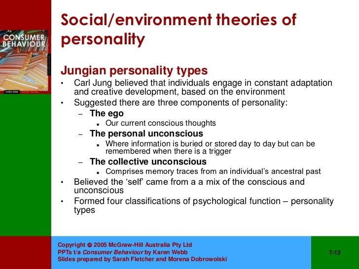 carl jung theory of personality types