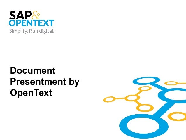 Document Presentment by OpenText