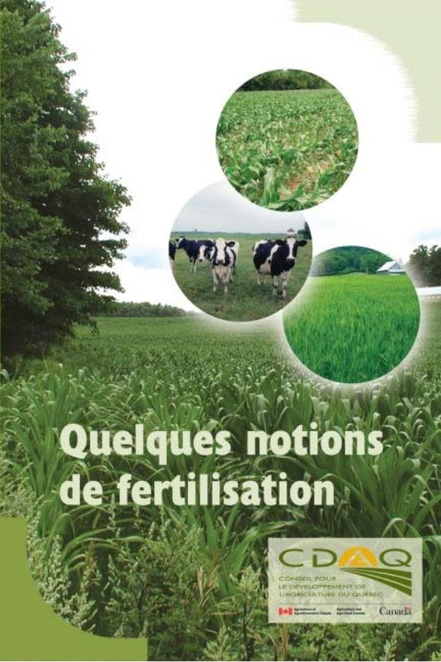 Conseil pour le développement de l'agriculture du Québec 555, boulevard Roalnd-Therrien, bureau 110 Longueuil (Québec) J4H...