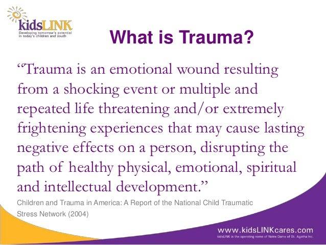 trauma theory in literature definition