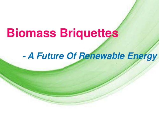 Biomass Briquettes - A Future Of Renewable Energy  Page 1