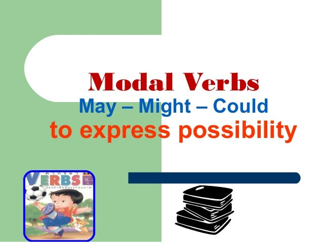 Modal Verbs May – Might – Could to express possibility