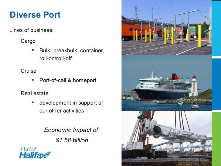 Halifax Gateway - Port of Halifax Slide 2