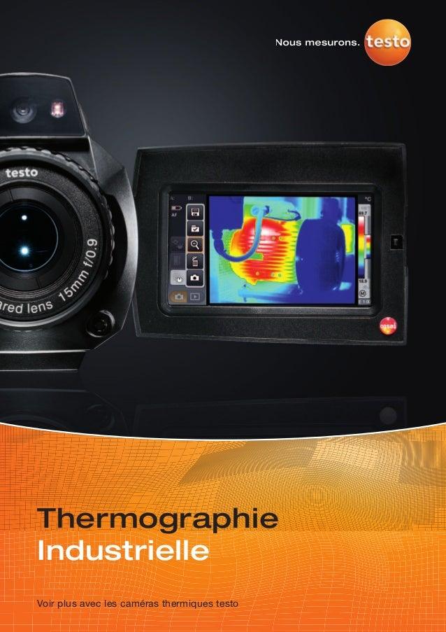 ThermographieIndustrielleVoir plus avec les caméras thermiques testo