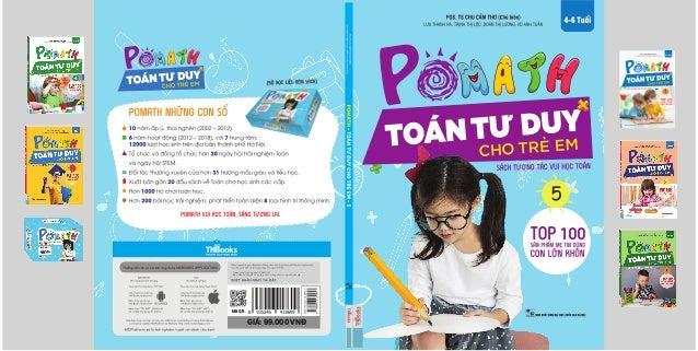 GIÁ: 99.000 VNĐ Mã QR - Video giới thiệu bộ sách POMATH - Bộ video hướng dẫn học tập và sử dụng sách cùng chuyên gia