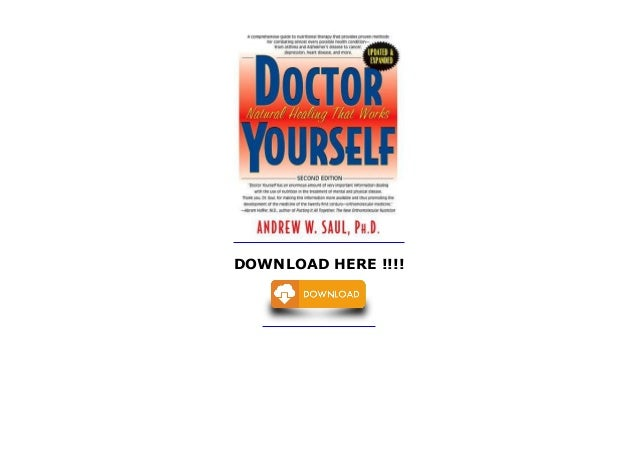 Doctor Yourself Ebook