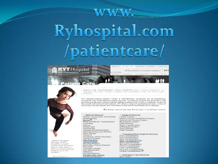 This website is about Patient care that are pregnant and the medical service are Dermatology public care Stem cell medicin...