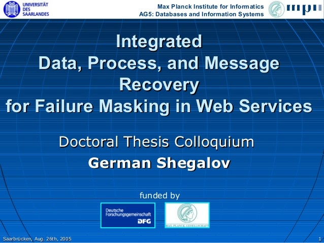Max Planck Institute for Informatics                                AG5: Databases and Information Systems              In...