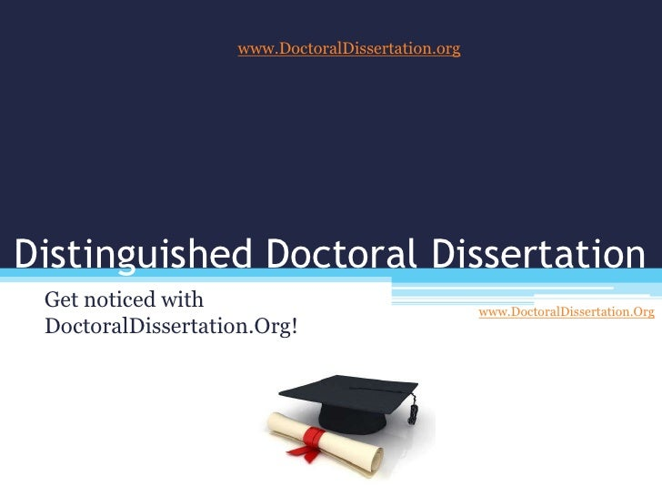 editing doctoral dissertations