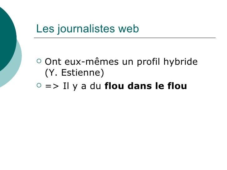 Amandine Degand : Le journalisme comme objet de recherche. Relecture de la sociologie du présent Slide 3