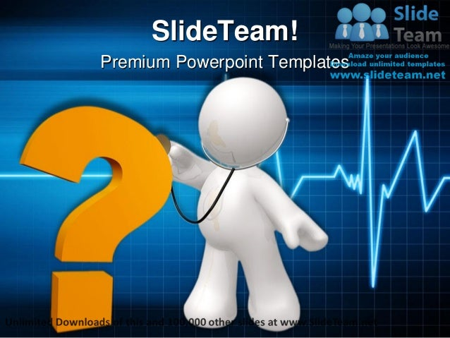 Doctor Checking Health Medical Power Point Templates Themes