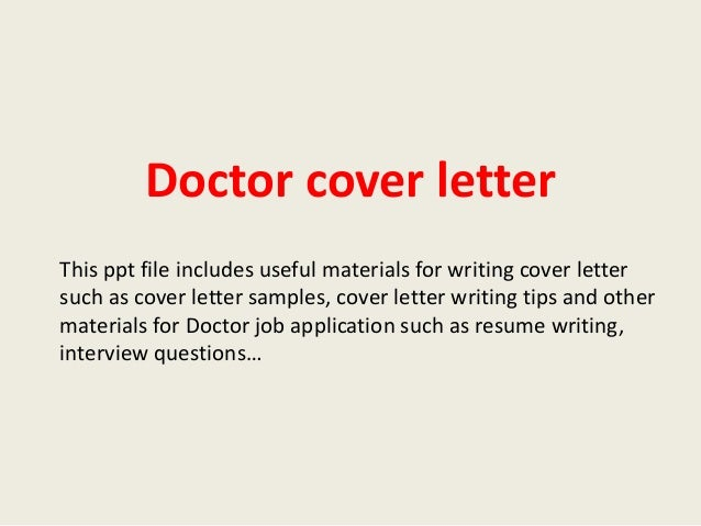 Cover Letter Example For Physicians. Physician Cover Letter Example  Physician ...