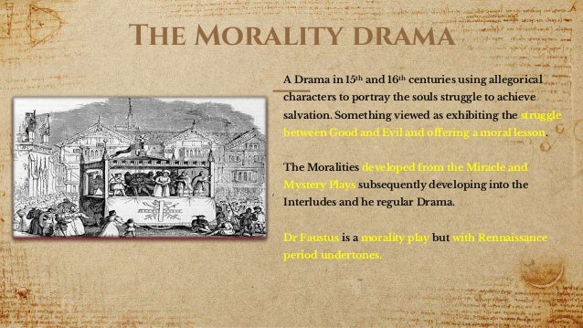 MEdieval Renaissance conflict in Dr Faustus