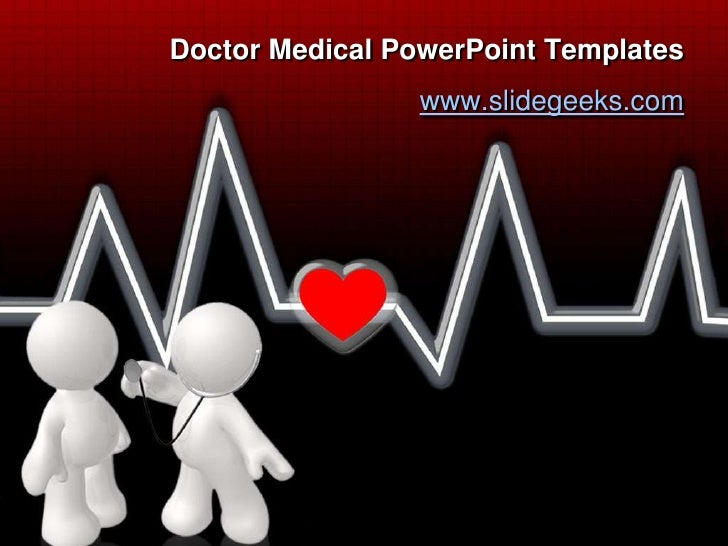 Doctor Medical PowerPoint Templates<br />www.slidegeeks.com<br />