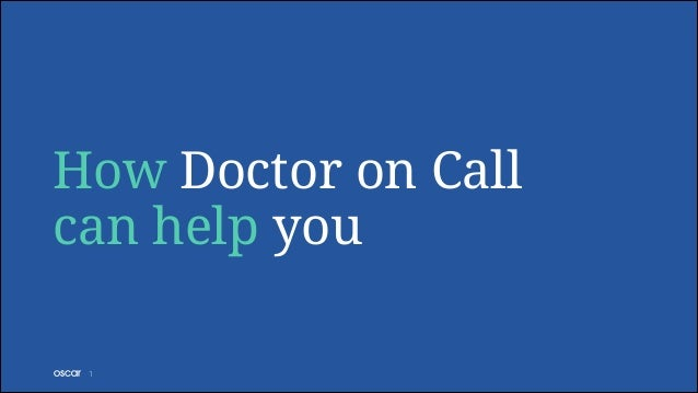 How Doctor on Call