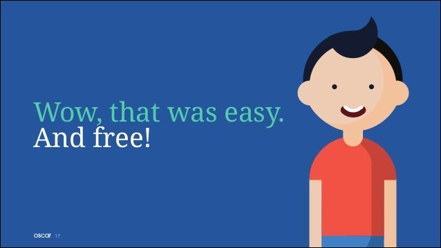 Wow, that was easy. And free!  !17