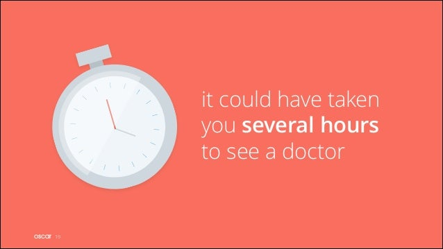 it could have taken you several hours to see a doctor  !19