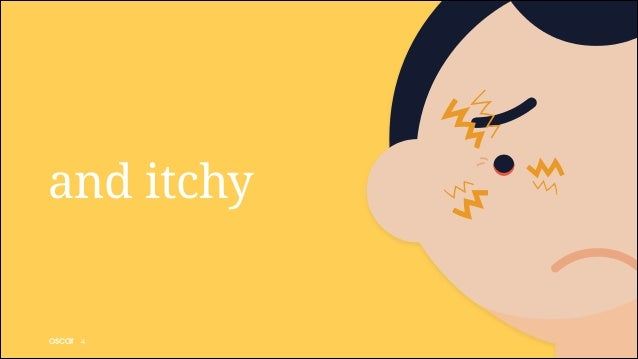 and itchy  !4