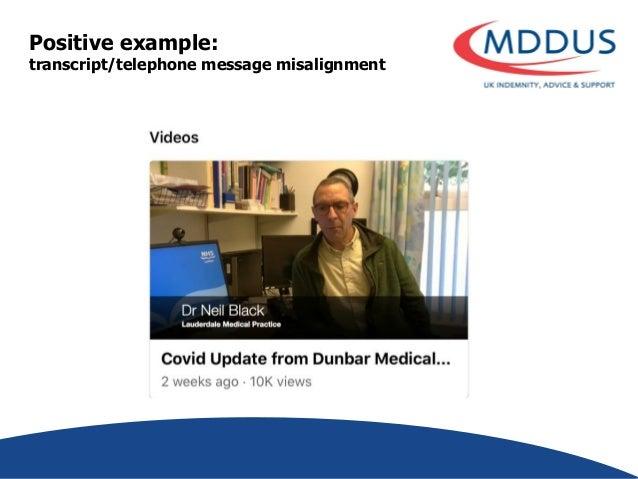 DOCTORS AND SOCIAL MEDIA webinar (delivered by Liz Price, MDDUS senior risk adviser)
