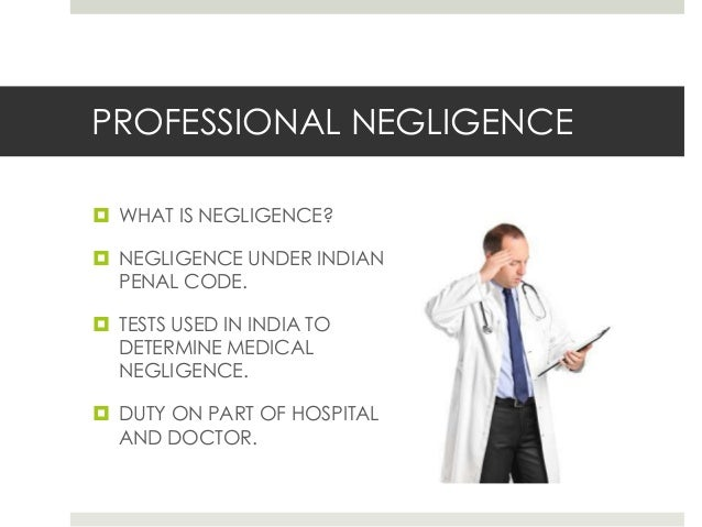 what is professional negligence pdf