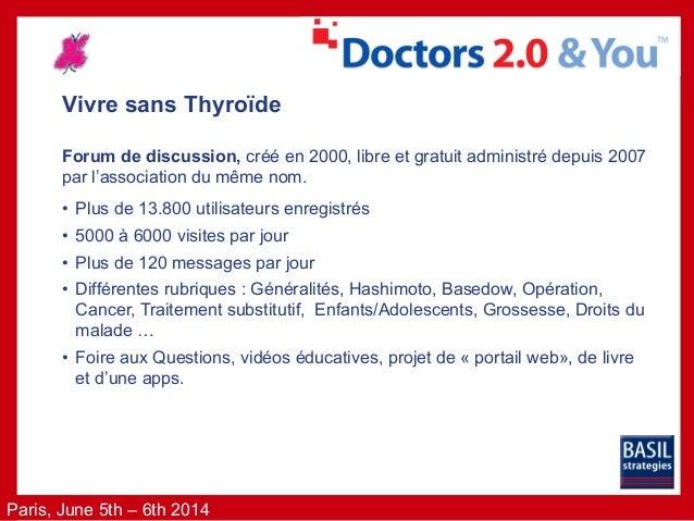 Vivre-sans-thyroide Médicaments : Gestion des pénuries et ruptures de stocks par une communauté de patients. Slide 3