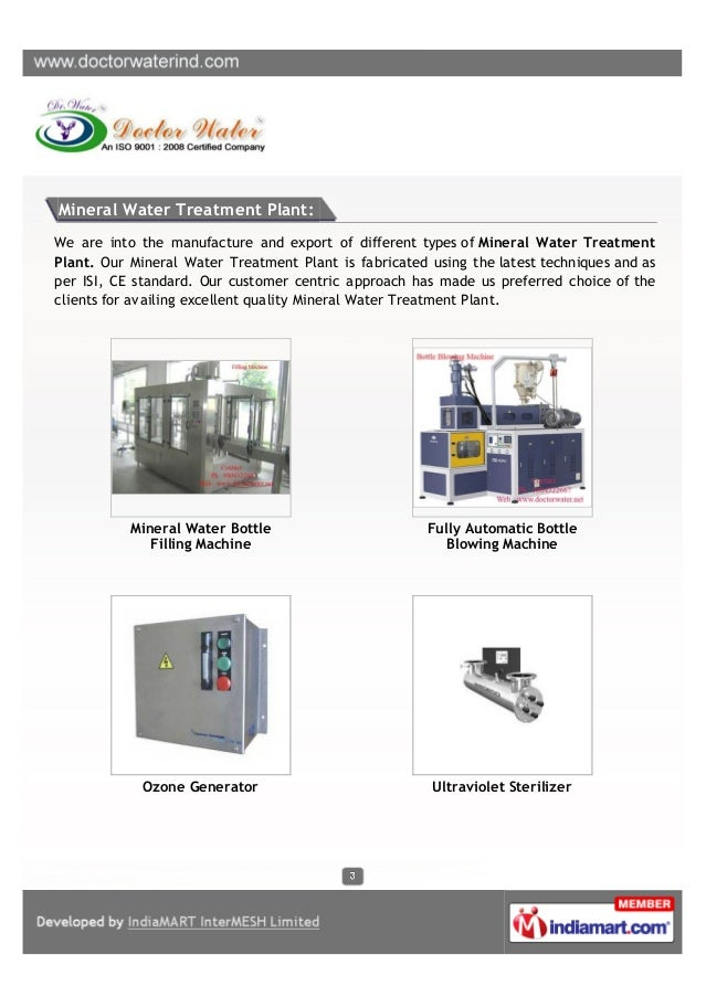Doctor Water, Kolkata, Water Treatment and Softening Plant Slide 3