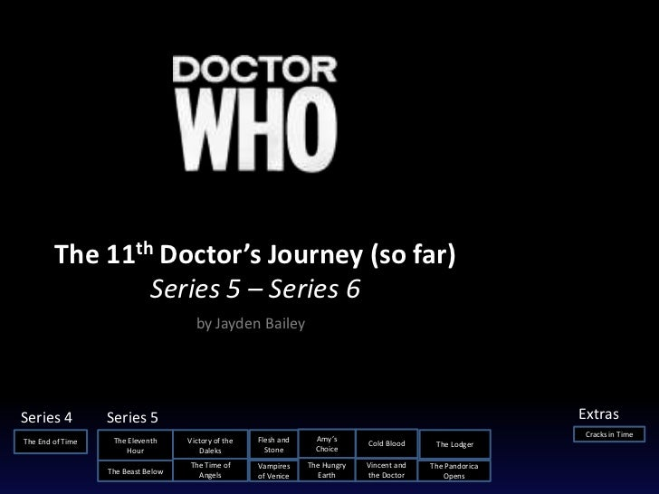 The 11th Doctor's Journey (so far)                Series 5 – Series 6                                      by Jayden Baile...