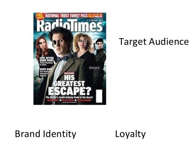 Brand Identity LoyaltyTarget Audience