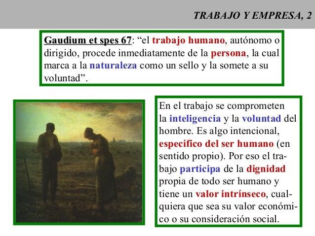Doctrina social vi trabajo y empresa Slide 2