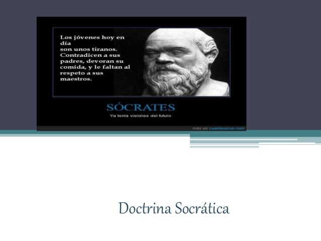 Doctrina Socrática