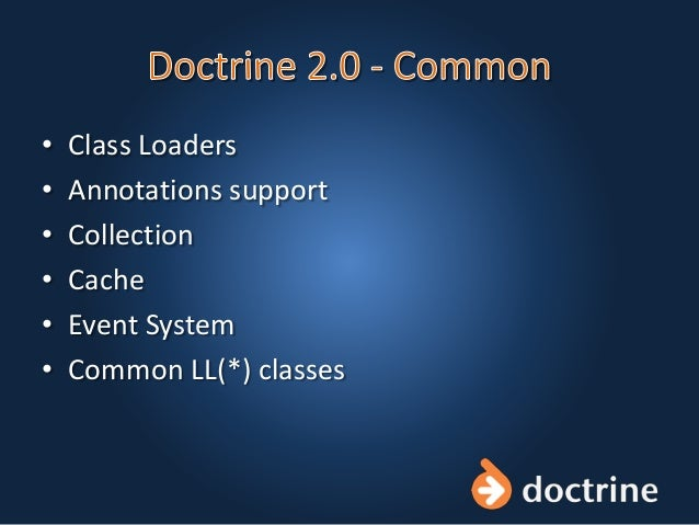 • Class Loaders • Annotations support • Collection • Cache • Event System • Common LL(*) classes