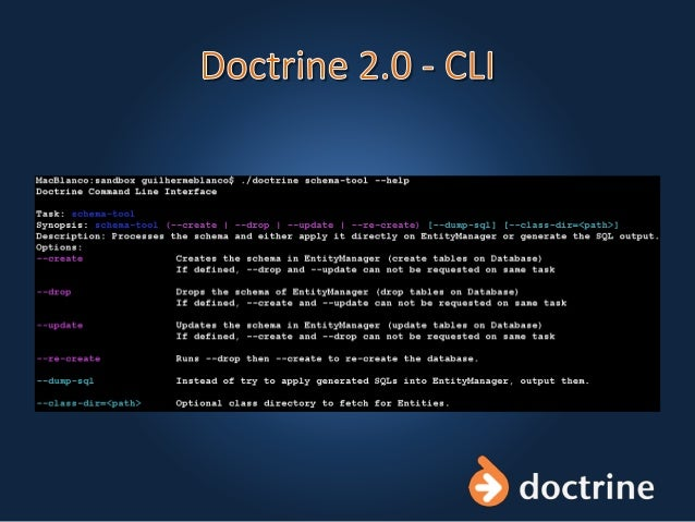 Doctrine 2.0 Enterprise Persistence Layer for PHP