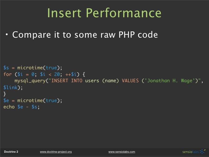 php microtime