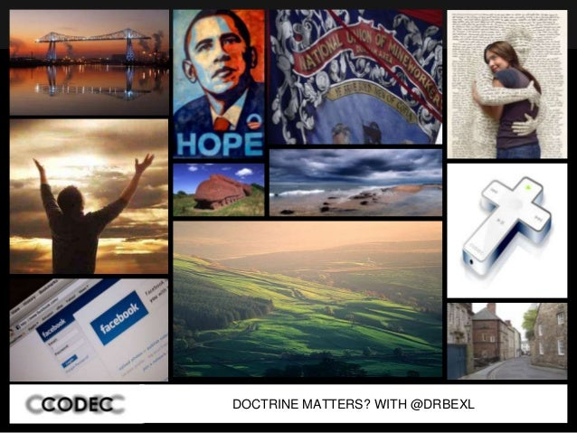 DOCTRINE MATTERS? WITH @DRBEXL