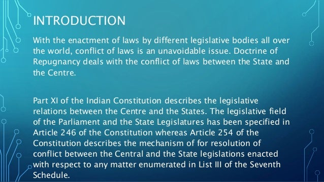 Important Constitutional Law Doctrines