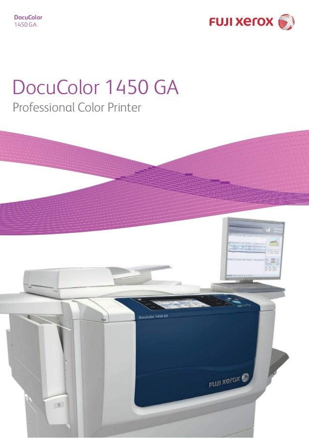DocuColor 1450 GA DocuColor 1450 GA Professional Color Printer
