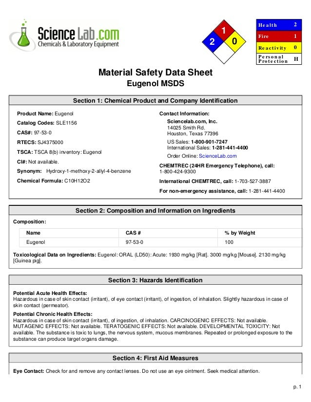 materials safety data sheet Search our sds (safety data sheets) database for all the safety information you need at msdsonlinecom  free safety data sheet index  sds / msds search 222.