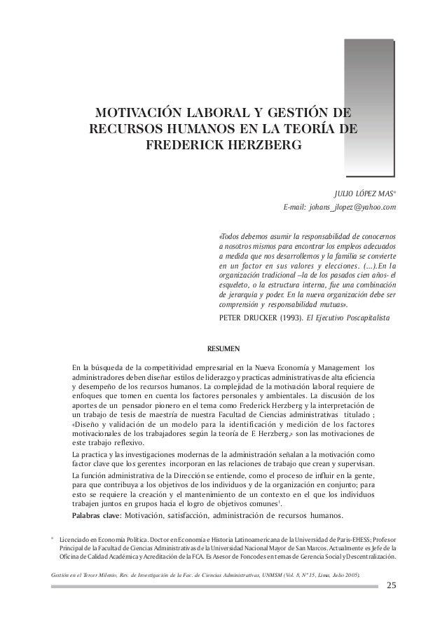 Gestión en el Tercer Milenio, Rev. de Investigación de la Fac. de Ciencias Administrativas, UNMSM (Vol. 8, Nº 15, Lima, Ju...