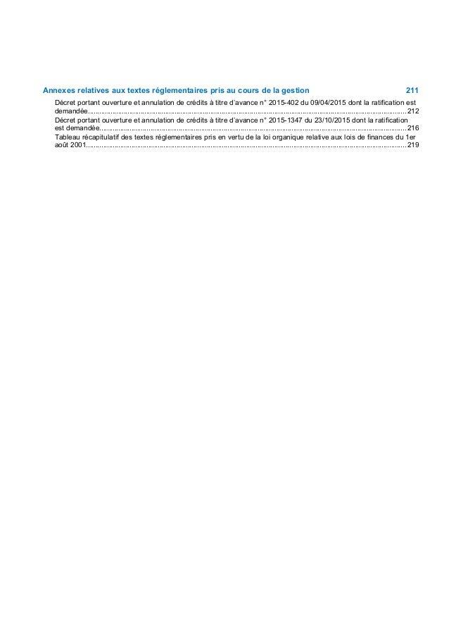 Rapport sur l'évolution de la situation économique et budgétaire et exposé général des motifs
