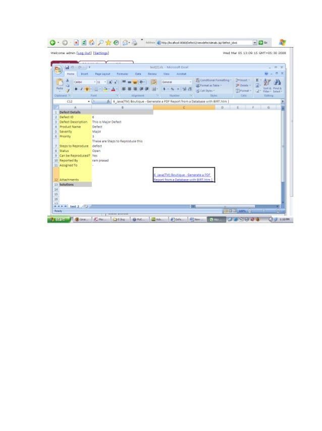 Document Defect Tracking For Improving Product Quality And Producti