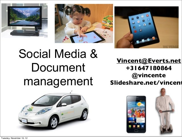 Social Media &     Vincent@Everts.net                 Document            +31647180864                                    ...